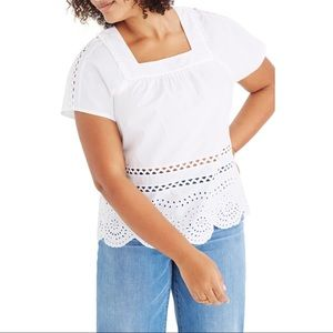 Madewell Angelica Eyelet Top